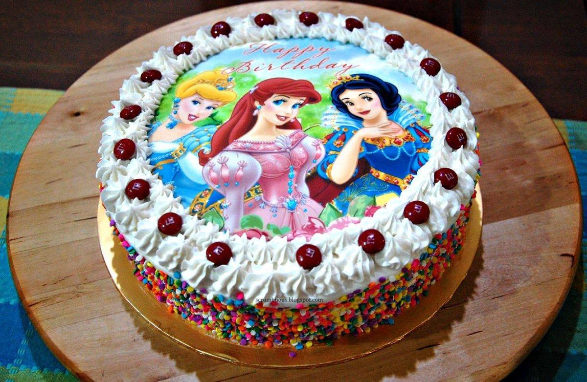Вафельные картинки для торта для девочки