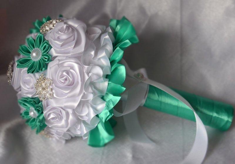 Оригинальный свадебный букет для невесты