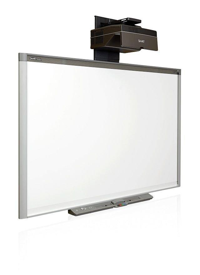 Интерактивные доски с проектором SMART Интерактивная доска SMART Board X885 с проектором Smart UX80, панелью  управления ЕСР и креплением