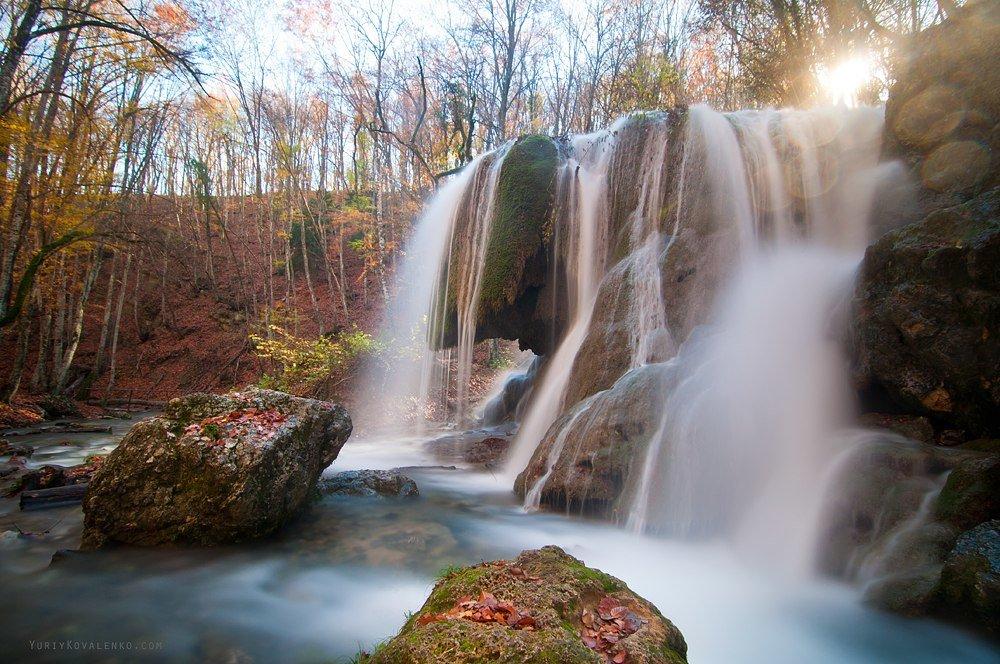 отметил, что водопад в крыму серебряные струи фото после физической