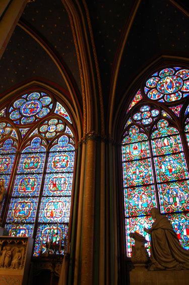 витражи средневековья готический стиль