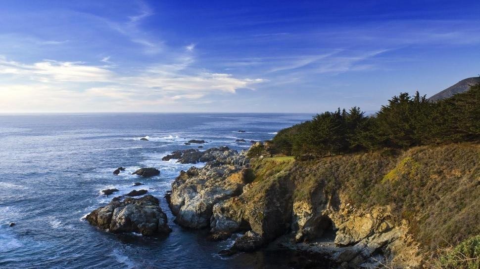 California Coast HD Wallpaperthis Wallpaper Resolution Is 1920x1080also It A 1080P