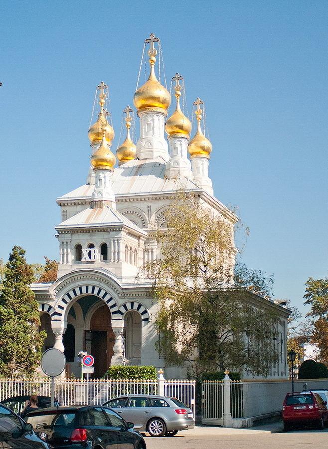 В каких городах Швейцарии есть православные храмы фото