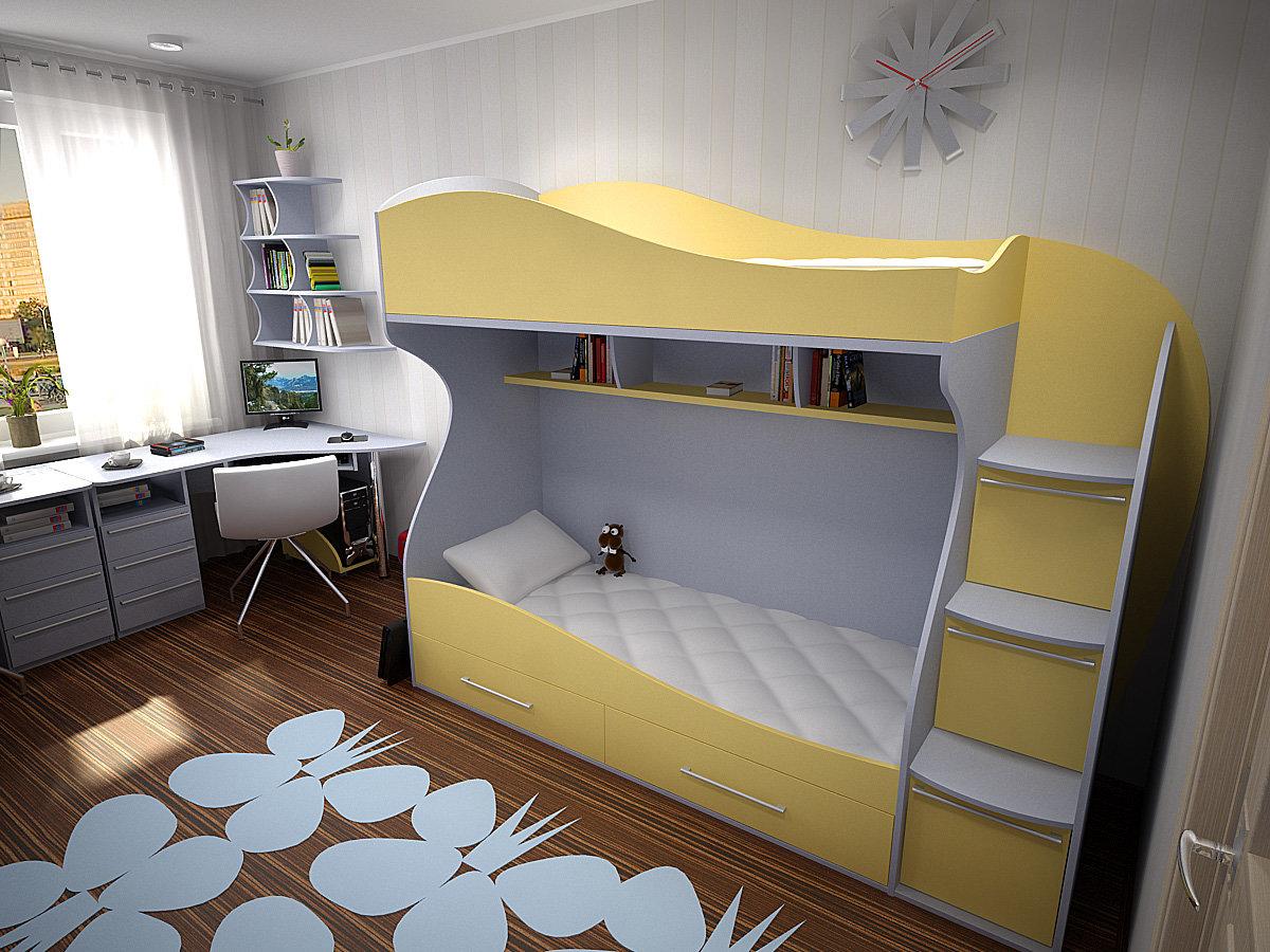 Детские кровати на заказ в новотроицке.
