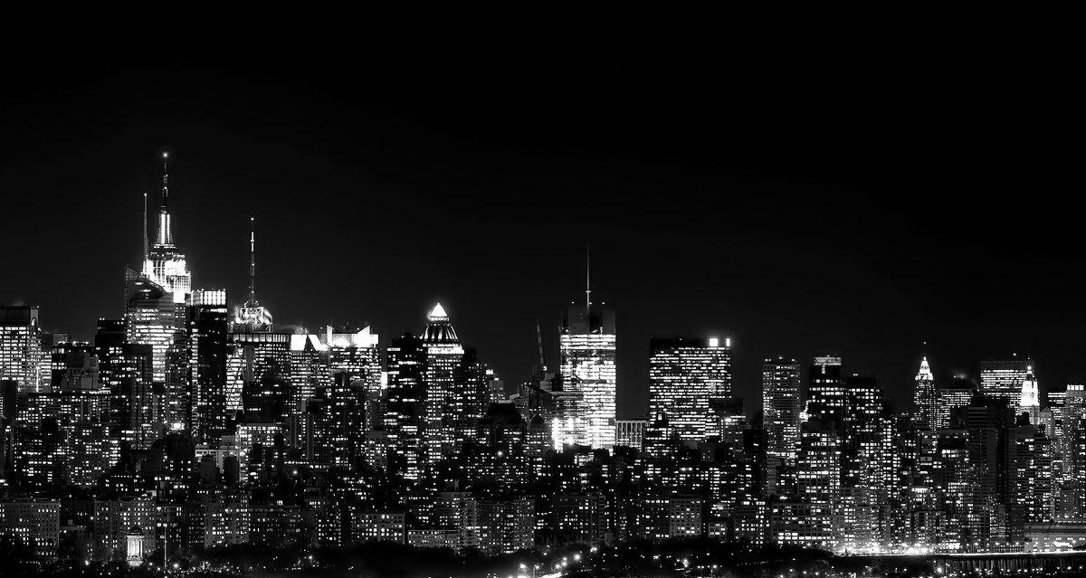 Дедушке, ночной город картинки черно-белые