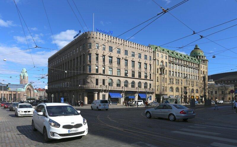 Хельсинки. Отель Сеурахуоне
