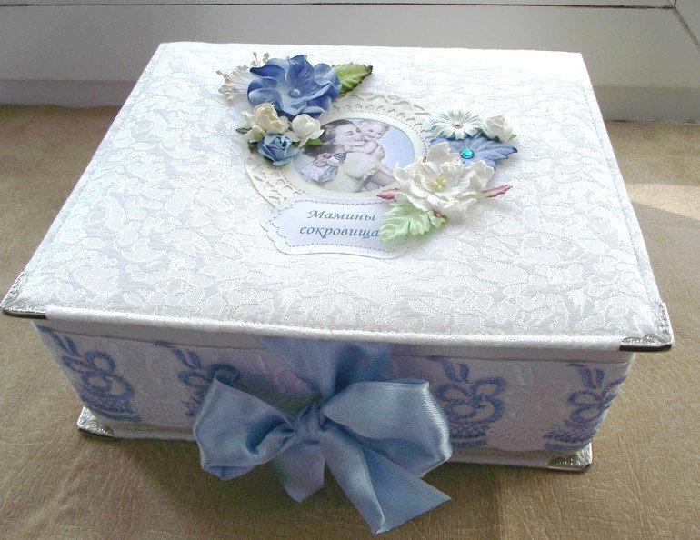 Коробка для хранения фотографий скрапбукинг