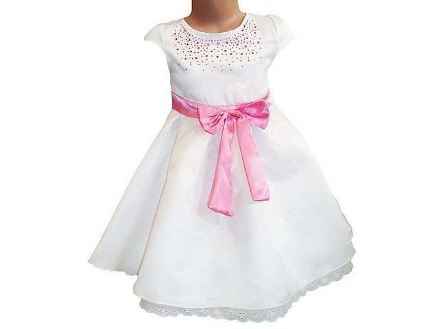 платья со стразами для девочки
