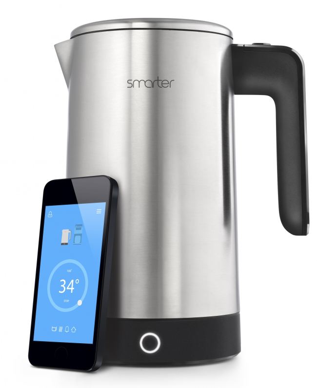 «Умный чайник», которым можно управлять с помощью смартфона.