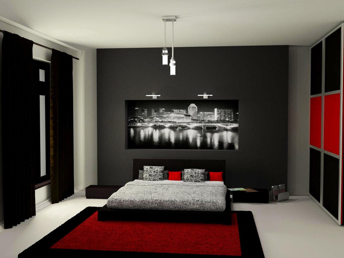 как крупных, фото дизайна спальни мужчины камни зеленого цвета