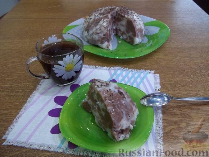 """Рецепт Желейный торт """"Мозаика"""""""