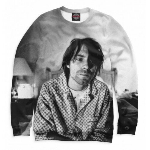 Женский свитшот 3D Kurt Cobain