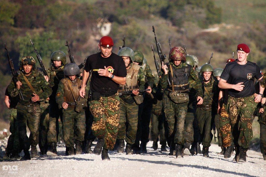 Фото русских бойцов краповых беретов