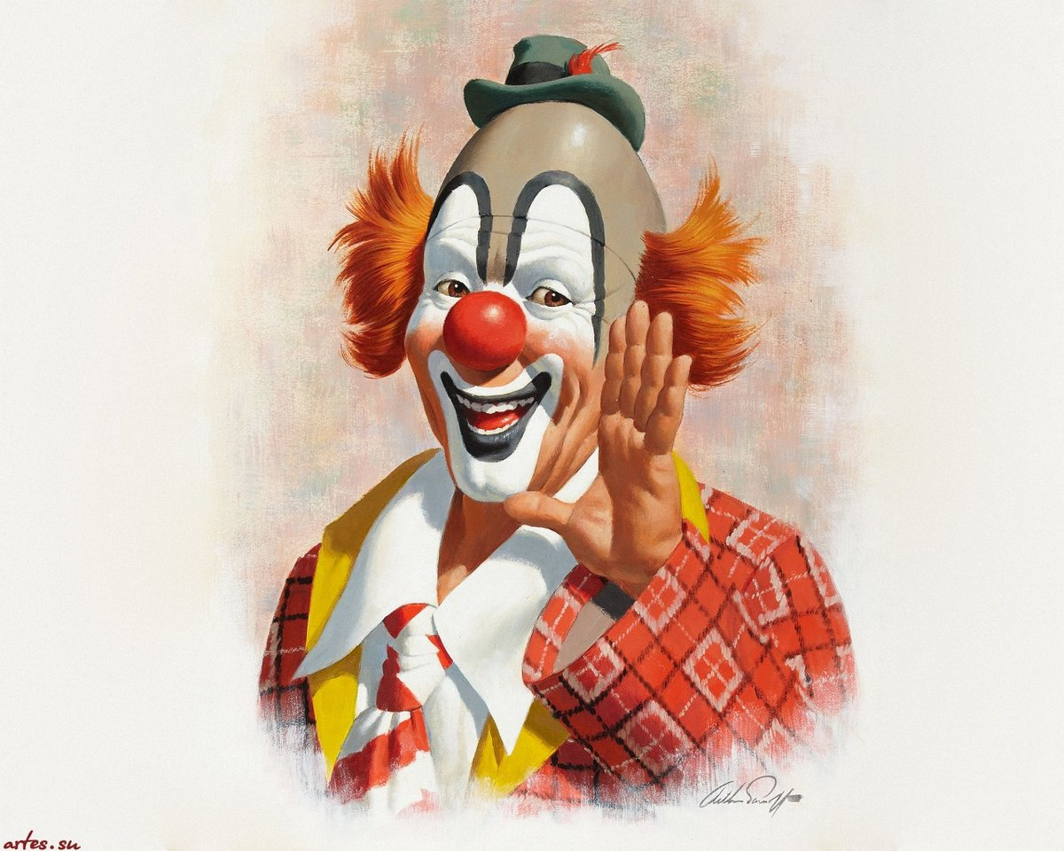 взять смеющийся клоун картинки давно зарекомендовала себя