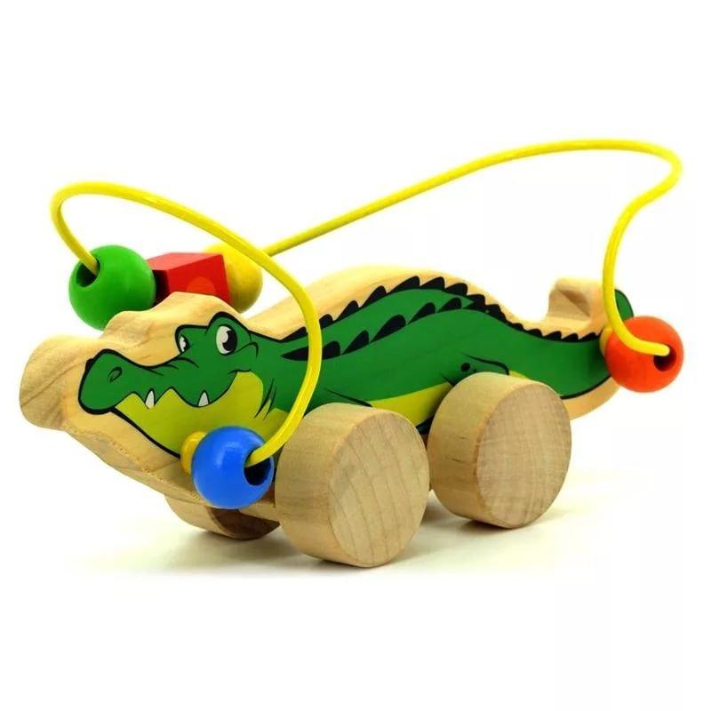 Купить Игрушка деревянная мди набор бусы 3 в Санкт-Питербург