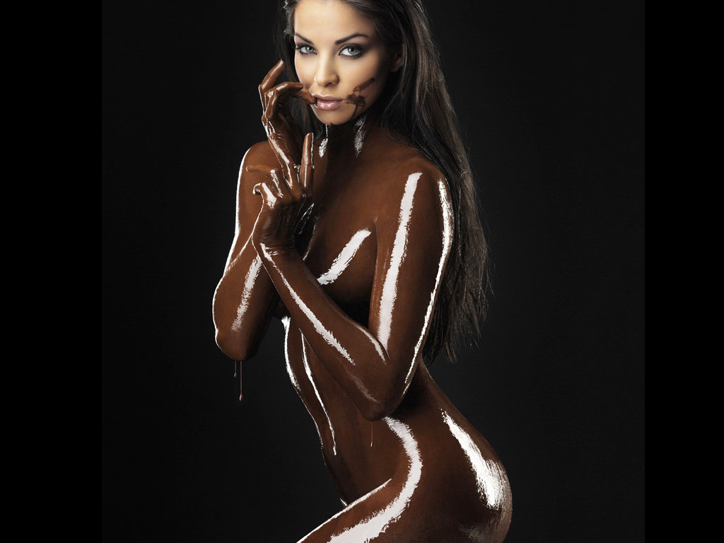 Chocolate sexy nude — 9