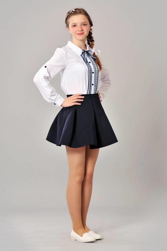 Пару штрихов и школьная форма в новом стиле