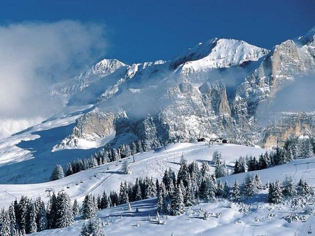 Туман в горах.
