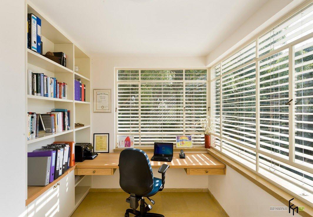 Рабочее место в комнате: современные варианты дизайна на фот.