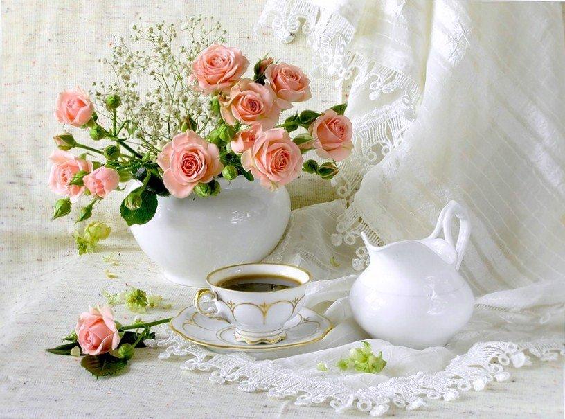 Красивые открытки с добрым днем и цветы, ссылками