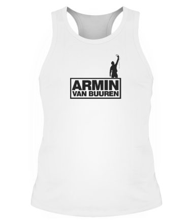 Мужская майка борцовка Armin Van Buuren