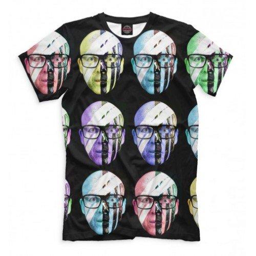 Мужская футболка 3D Стефан Бодзин
