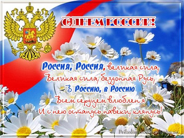 Прикольные поздравления с Днем России 35