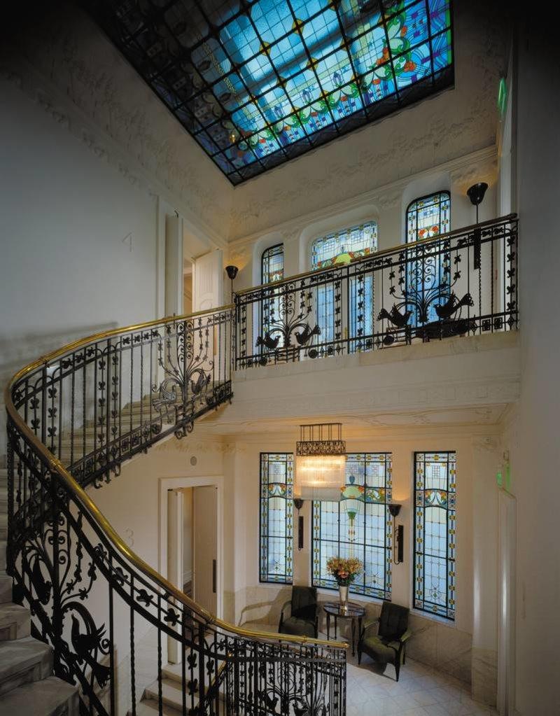 Дворец Грэшема изнутри.