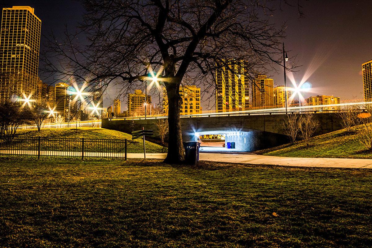 фотографии вечернего города порядке ведения оперативного