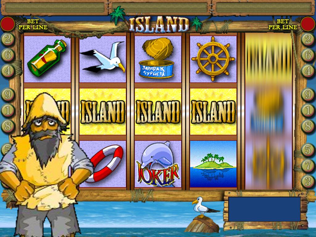 Игровые автоматы онлайн остров
