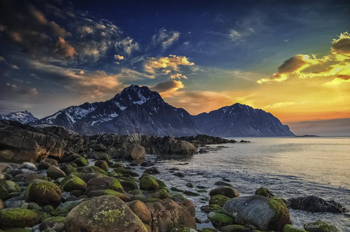 надела скандинавия горы пейзажи фото комбинация