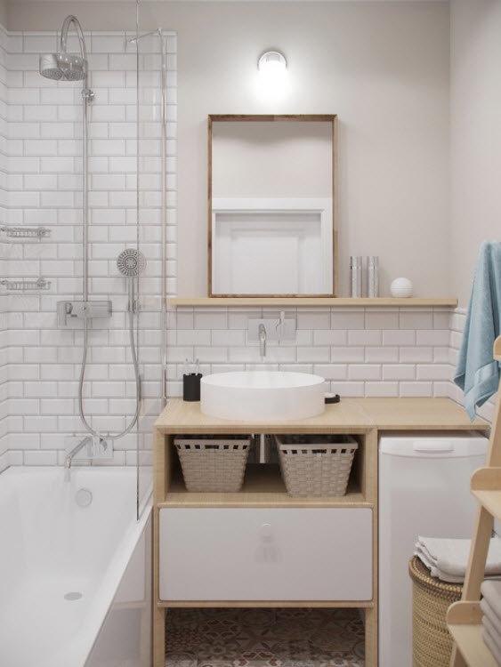 Свет в ванной комнате диизайн