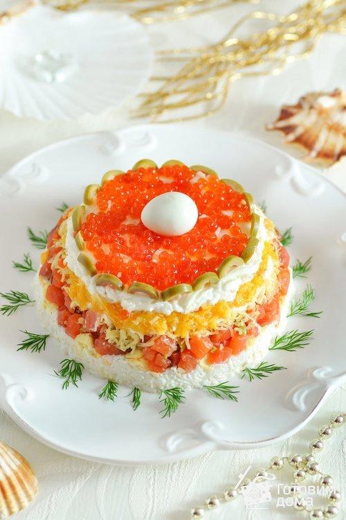 салат жемчужина рецепт с фото