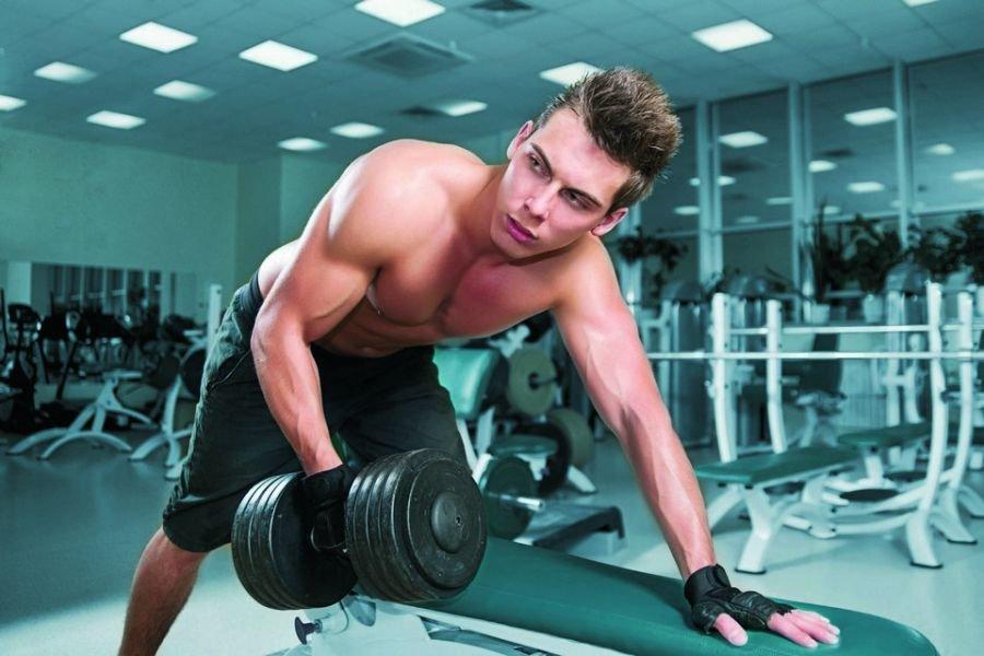 Картинки парня в спортзале