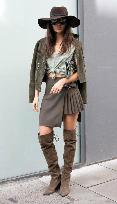 Самые модные сапоги этой осени и будущей зимы — ботфорты. Чем выше, тем лучше!