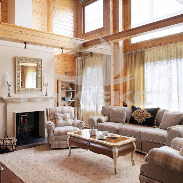 Интерьер дома из клееного бруса дизайн деревянных