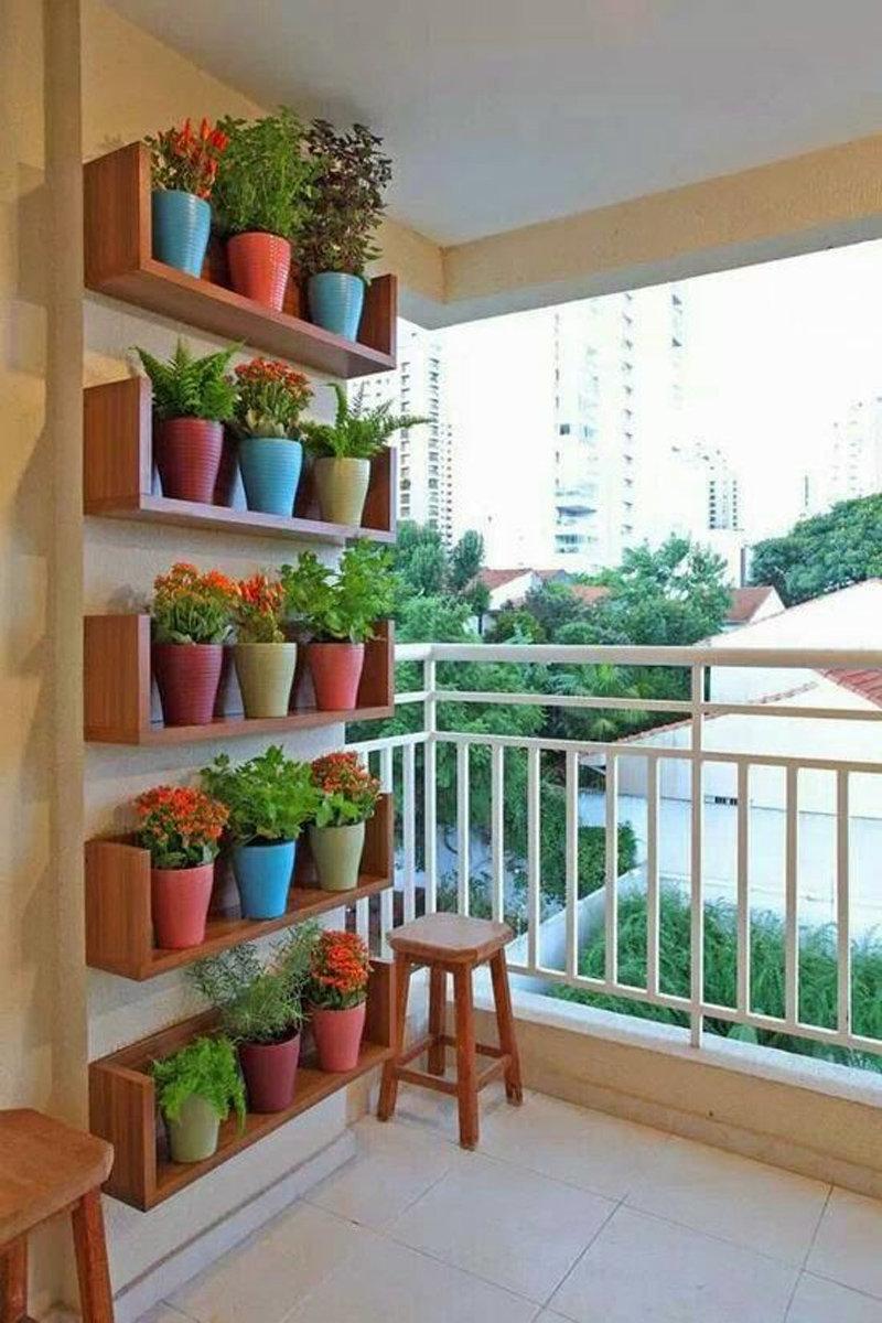 """Идеальное размещение цветов на балконе. """" - карточка пользов."""