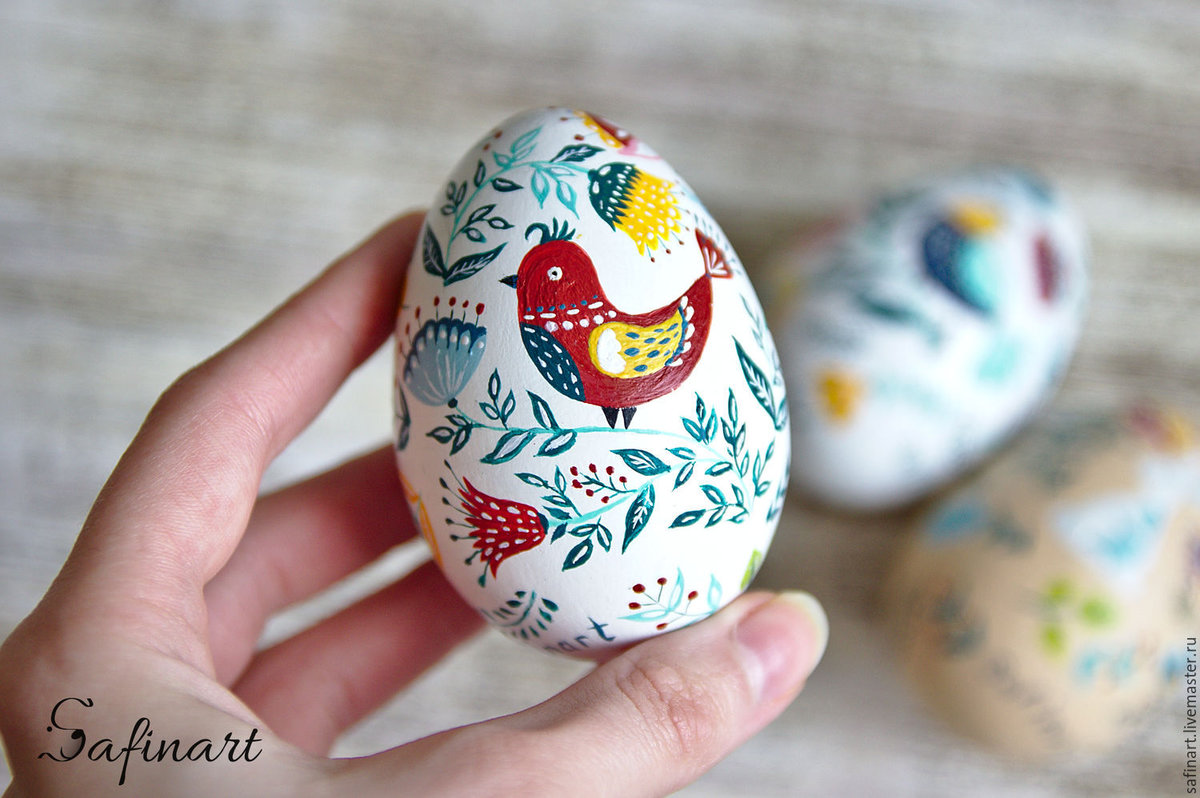 Разрисованное яйцо картинка
