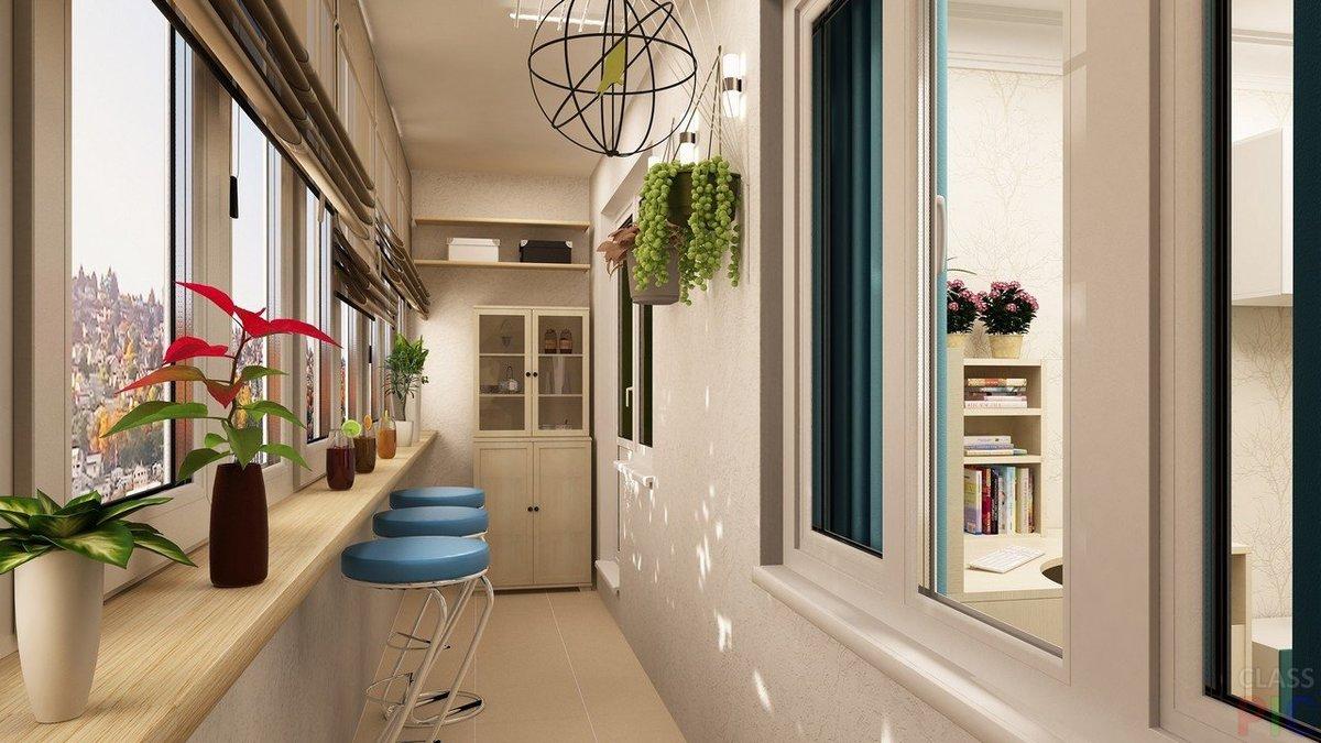 Идеи дизайна балкона и лоджии.