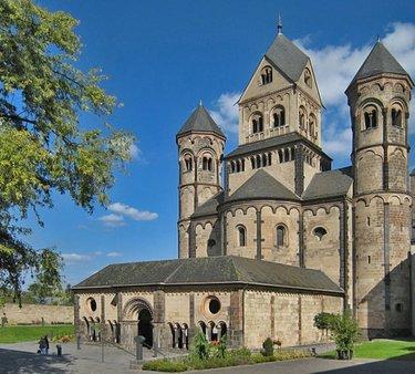 собор бенедиктинского аббатства мария-лаах