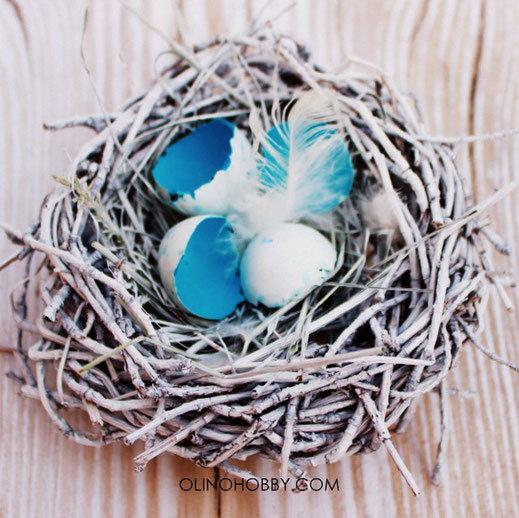Как сделать гнездо из веток 155