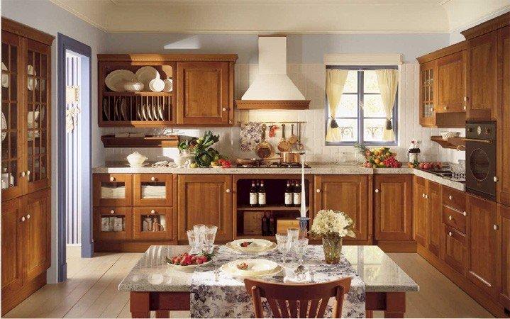 Оформление кухни в английском стиле