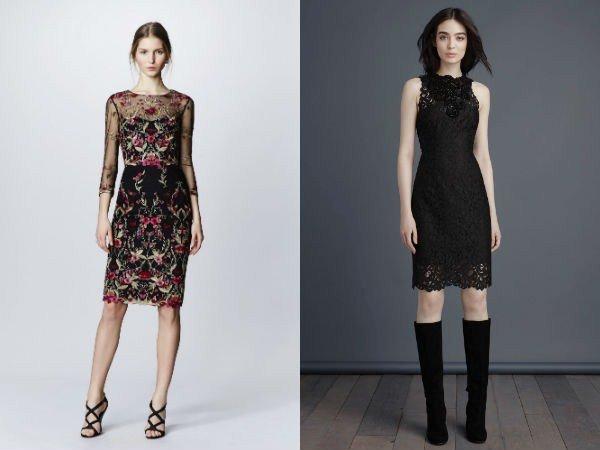 Какие фасоны платьев модны фото