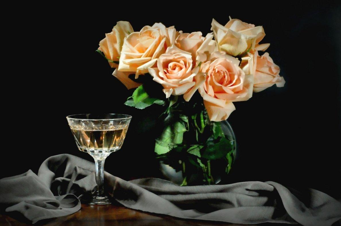 его, картинки с бокалами и розами этом случае