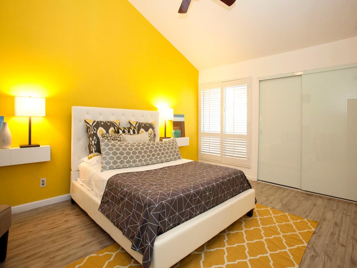 внимание комната в желтом стиле картинки аренде квартир сутки