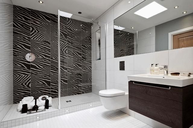 самым эффективным рисунком «зебры» является сочетание черных и белых оттенков цветов.