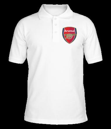 Мужская рубашка поло Арсенал