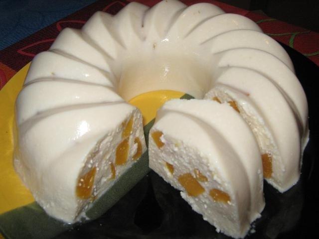 Диетический торт из творога без выпечки
