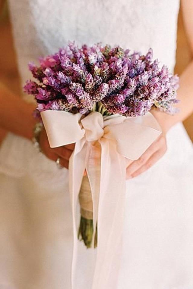Букет лаванды свадебный
