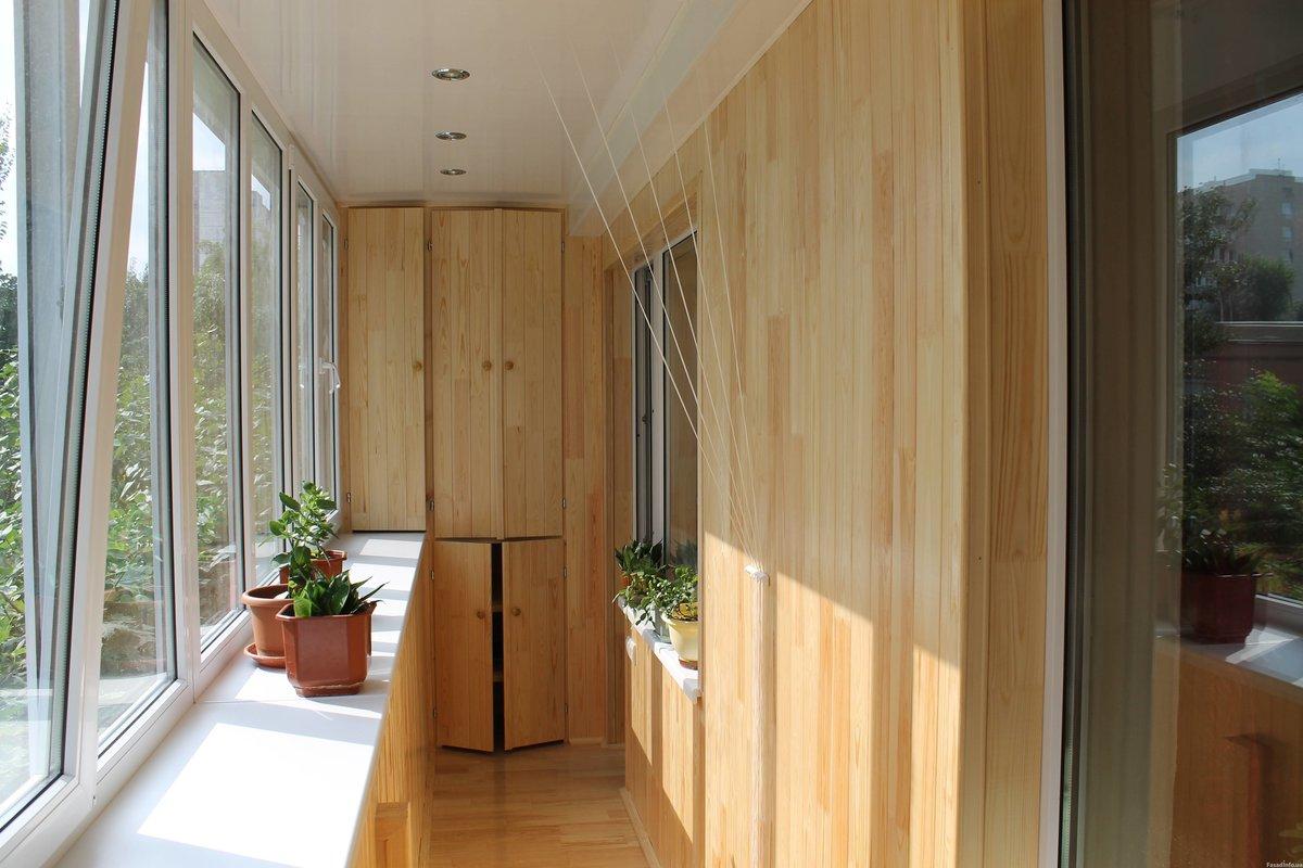 Внутренняя отделка балконов и лоджий - мастеровой.